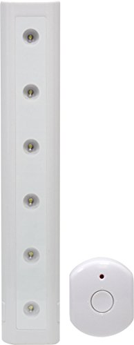 GE Utility Remote Controlled Light, White