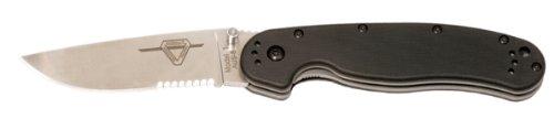 Ontario Knives Partial Serration Folder Knife, Outdoor Stuffs
