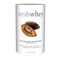 tera's: Organic Whey Protein, Fair Trade Certified Dark Chocolate Cocoa, 12 oz