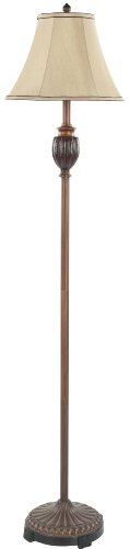 Safavieh Lighting Collection Gwendolyn Gold 61-inch Floor Lamp