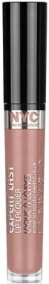 N.Y.C. New York Color Expert Last Lip Lacquer, 100 Bare Brooklyn by - Brooklyn Mall Ny