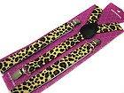 Leopard Suspenders Gothic Emo Punk Rocker Unisex