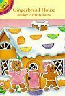 Gingerbread House Sticker Activity Book by Cathy Beylon (July 3 - House Activity Gingerbread Sticker