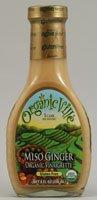 Organicville Organic Vinaigrette Miso Ginger -- 8 fl oz