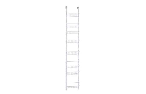 ClosetMaid 1231 Adjustable 8-Tier Wall and Door Rack, 77-Inch Height X 12-Inch - Tower Door Wood