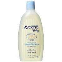 Aveeno Baby Wash and Shampoo - 18 Oz 2/pack Thank you to all