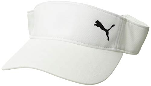 Puma Golf 2019 Women's Duocell Visor (One Size), Bright White