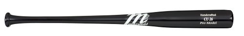 Marucci CU26 Chase Utley Pro Model Wood Base Bat, Black, 31-Inch/29-Ounce