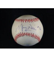Powers Collectibles Signed Wills, Maury National League J...