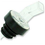 WIDGETCO Clear Plastic Pour Spouts w/ Bug Screen & Grip Collar by WIDGETCO (Image #1)