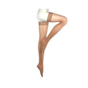 Mediven Sheer & Soft Thigh-High Petite with Lace Silicone Band, 30-40 mmHg, Closed Toe, Natural, Size 3 Part No. 439-0-3 Qty 1 - 439 Sheer