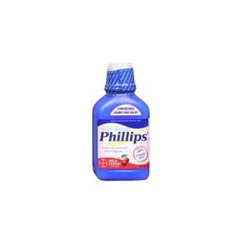 Bayer Bayer Phillips Milk Of Magnesia Liquid Cherry, Cherry 12 oz (Pack of 3