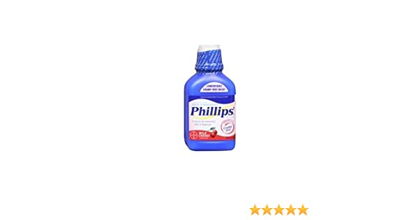 Amazon.com: Bayer Bayer Phillips Milk Of Magnesia Liquid Cherry, Cherry 26 oz (Pack of 3): Health & Personal Care