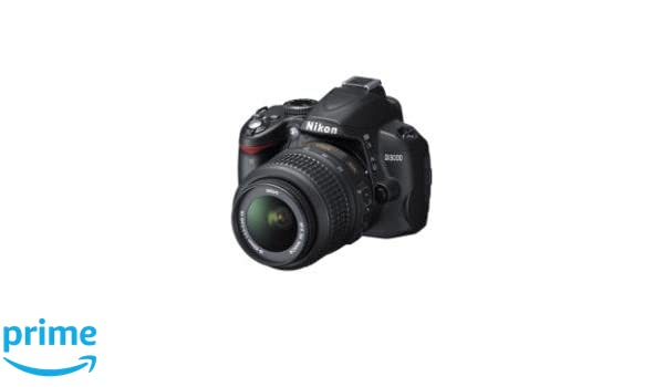 Nikon D3000 + 18-55 VR 3LCD + SD 4GB 60x Juego de cámara SLR 10.2 ...