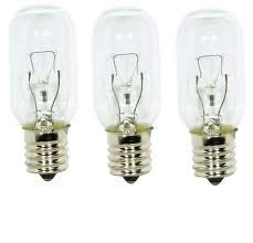 Edgewater Parts WB02X4253 Light Bulbs (3 pk.) Compatible with GE Microwave Oven