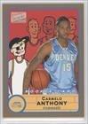 Carmelo Anthony (Basketball Card) 2003-04 Bazooka - [Base] - Gold #278