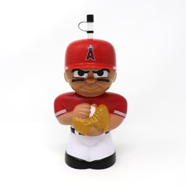- Party Animal MLB TeenyMates Big Sipper Drink Bottle Los Angeles Angels