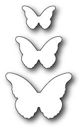 Memory Box - Dies - Cascadia Butterfly Trio