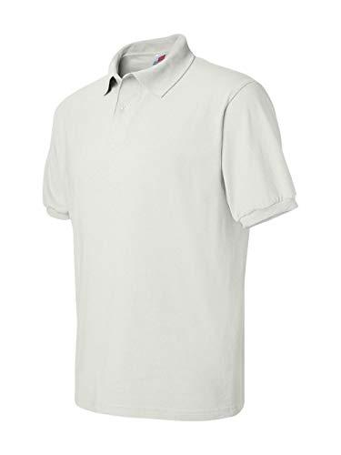Men's 5.2 oz Hanes STEDMAN Blended Jersey Polo