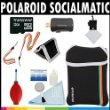 Polaroid Premium ESSENTIAL KIT For The Polaroid Socialmatic 14MP Wi-Fi Digital Instant Print & Share Camera - Great Holiday Add On Gift