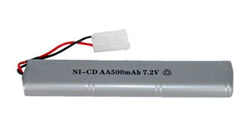 AirSoft Double Eagle AEG M83 M85 Factory 7.2V 500mAh NiCD Battery Replacement ()