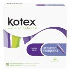 Kotex Security Tampon Spr Plus Absorb 18 Ct
