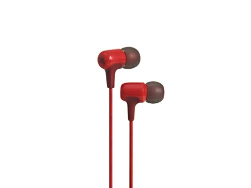 JBL E15 by Harman Signature Sound in-Ear Headphones with Mic (Red)