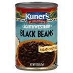 Kuner's Black Beans 15 OZ (Pack of 2)