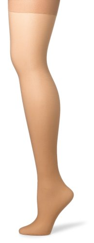 (Hanes Silk Reflections Women's Silky Sheer Control Top Sandalfoot Hosiery, Little Color, CD (Pack of 3) )