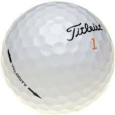 24 Titleist Velocity Golf Lake Balls by Titleist