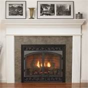 Empire Comfort Systems MFL-52-UH Plain Profile Mantel,Unfinished Hardwood