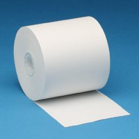 Nashua Advantage 14# POS / ATM Thermal Paper Roll Item 8975 (273' x 3 1/8'') - 50 Per Case from Morgan Supply Central by Nashua Advantage