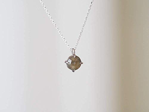 Dainty Grey Labradorite Stone Sterling Silver Gemstone for sale  Delivered anywhere in USA