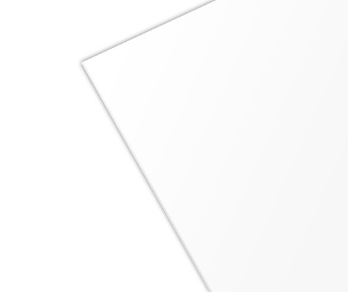 - Styrene Sheet - .030 Thick, White, 12