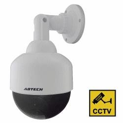 4 Inch Speed Dome Dummy Camera in Outdoor Housing with LED Light