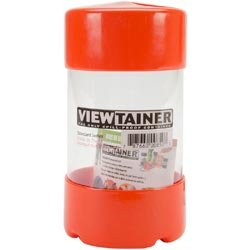 Viewtainer Bulk Buy (6-Pack) Storage Container 2.75 inch x 5 inch Orange CC27505-8 by Viewtainer