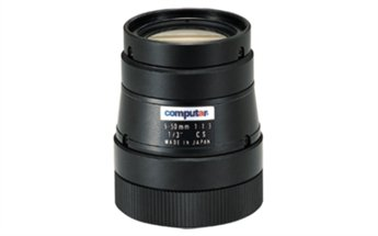 Video Computar - Computar T10Z0513CS 0.33-Inch Varifocal lens 5-50mm F1.3 Manual Iris