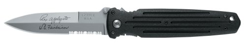 Gerber Applegate Combat Folding Knife, Serrated Edge [05780]