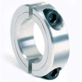 """Two-Piece Clamping Collar, 11/16"""", Aluminum (Pack of 5)"""