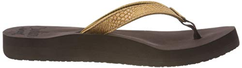 Tongs Sassy Cushion Marron Bronze Tob Tobacco Femme Black Reef Star xaXTqxA