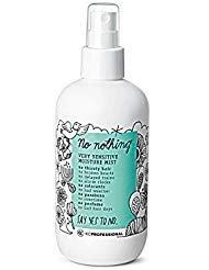 No Nothing Very Sensitive Moisture Mist Leave In Conditioner - 100% Vegan, Hypoallergenic, Fragrance Free, Paraben Free - 8.5 oz