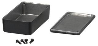 Hammond 1590BBK Black Diecast Aluminum Enclosure -- for sale  Delivered anywhere in Canada