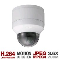 Sony SNC-DF50N Dome Security Camera with Normal Wide Lens