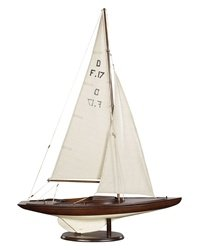 Authentic Models AS078F Dragon Olympic Sail Racer, French Finish