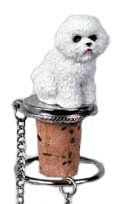 - Bichon Frise Wine Bottle Stopper