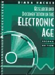 Research and Documentation in the Electronic Age, Hacker, 0312191936