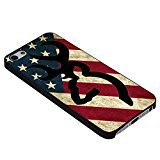 Browning Deer Camo America Flag for Iphone Case (iPhone 6 Black)