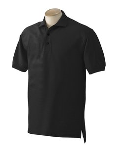 Izod Double-Mercerized Satin Tonal Sport Shirt, Black, S
