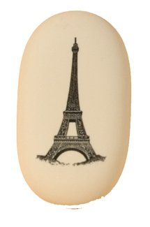 Eiffel Tower Eraser by Cavallini & Co. - Pencil Eraser - Craft Eraser