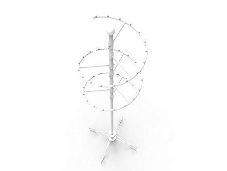 Amazon.com: FixtureDisplays 16967-NF - Perchero en espiral ...